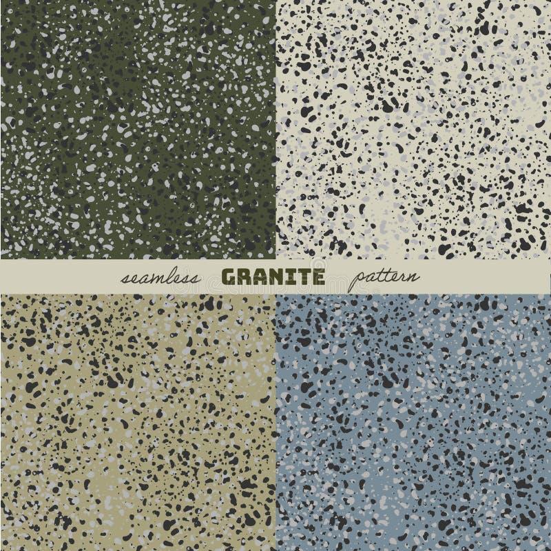 A textura do granito ilustração do vetor