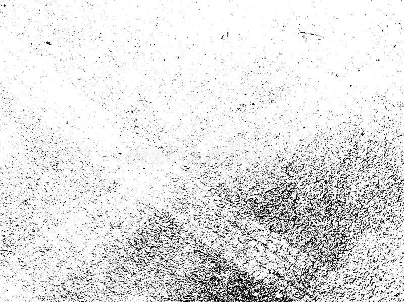 Textura do grunge do vetor Fundo abstrato, asfalto com traços de pneus ilustração stock