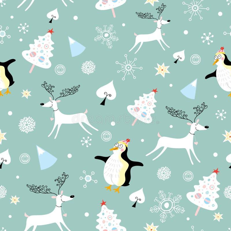 Textura do inverno ilustração royalty free