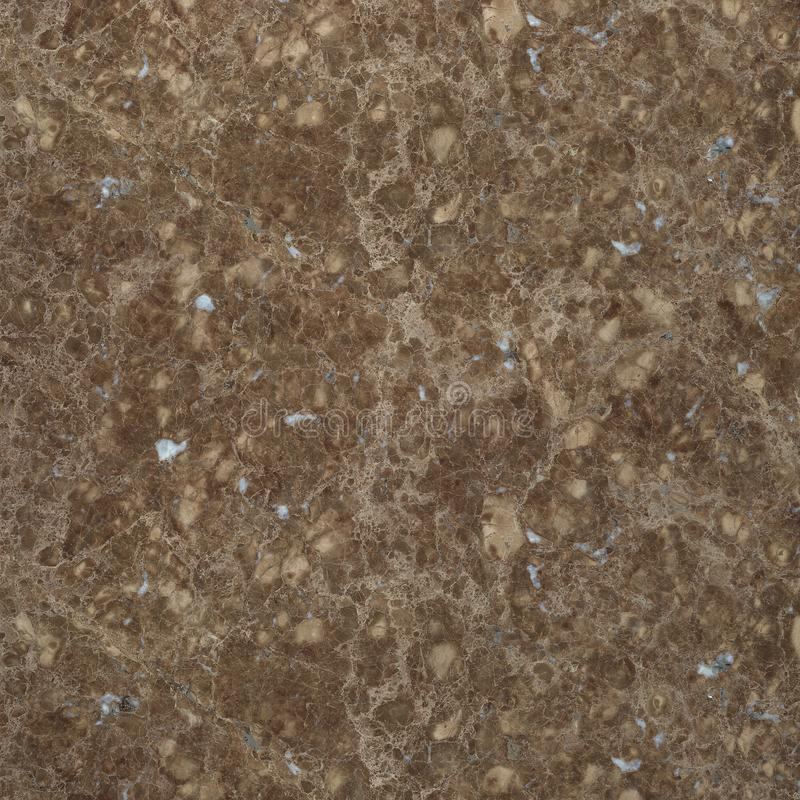 Textura do mármore de Brown para interior e exterior foto de stock
