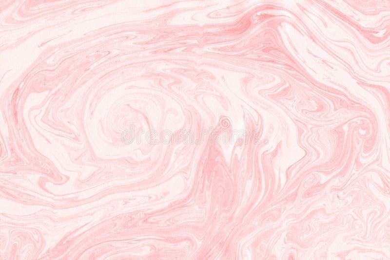 Textura do mármore de Suminagashi pintado à mão com profundamente fotos de stock