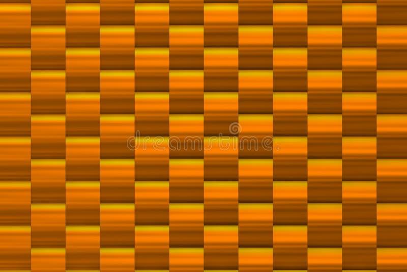 Textura do meio-dia com sombras douradas ilustração do vetor