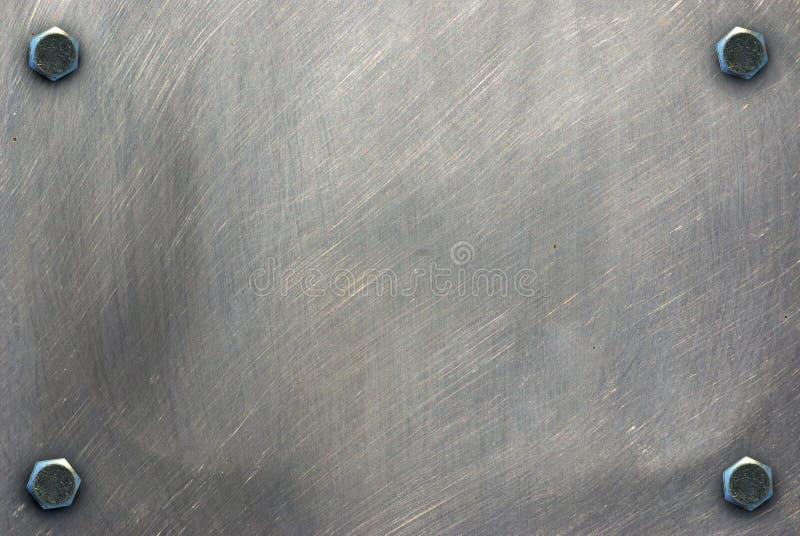 Textura do metal fotografia de stock