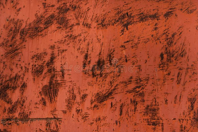 Textura do metal de Grunge Fundo oxidado riscado do metal fotos de stock