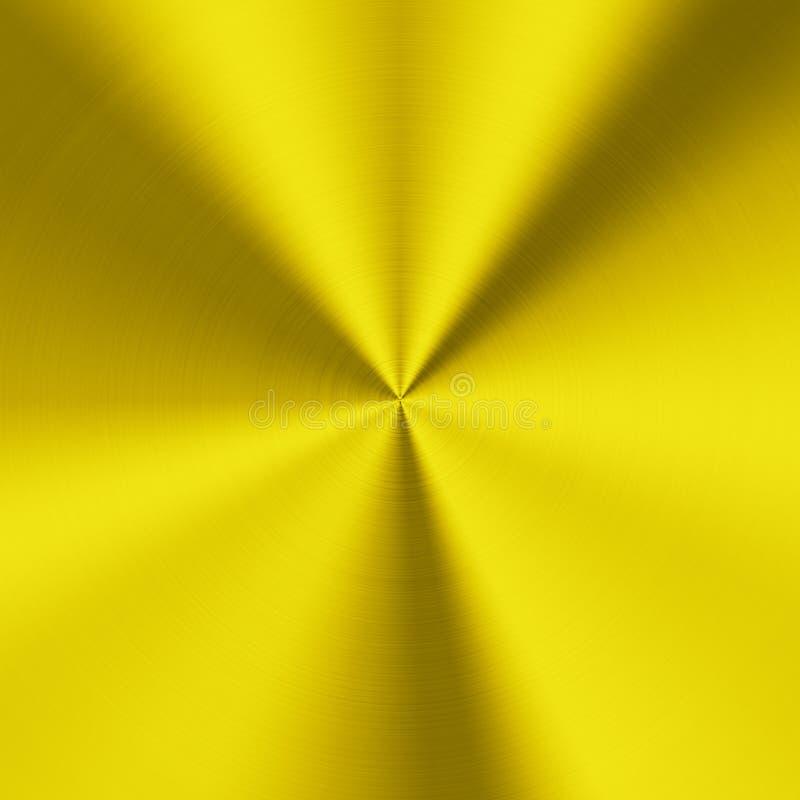 Textura do metal do ouro imagem de stock royalty free