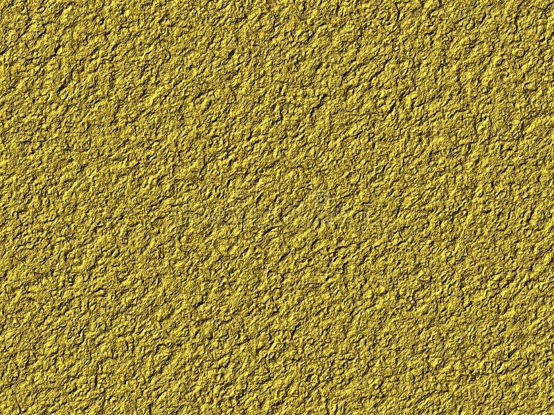 Textura do metal do ouro ilustração do vetor