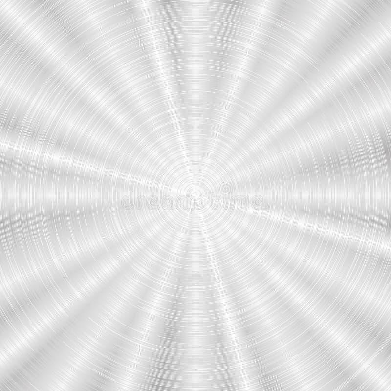 Textura do metal do vetor ilustração do vetor