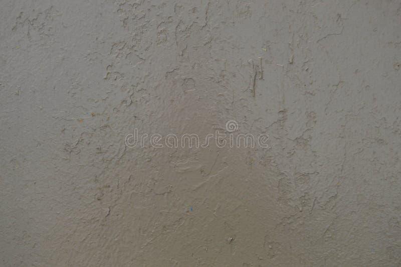 A textura do metal do ferro pintou a pintura de descascamento cinzenta de velho golpeado riscado rachou a parede oxidada antiga d fotos de stock royalty free