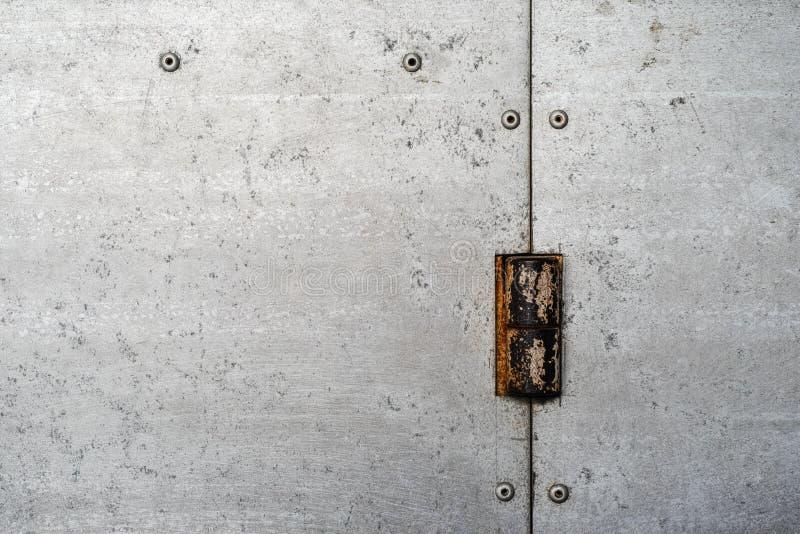 Textura do metal galvanizado imagem de stock royalty free