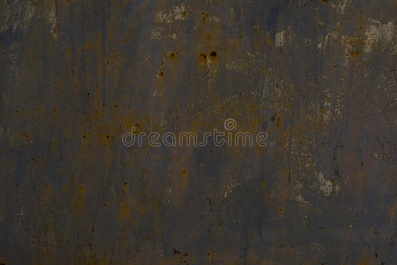 Textura do metal oxidado Fundo do ferro com pontos da oxidação imagem de stock