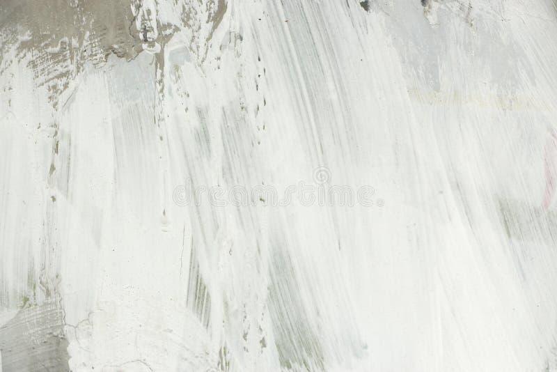 Textura do muro de cimento com emplastro e pintura imagem de stock royalty free