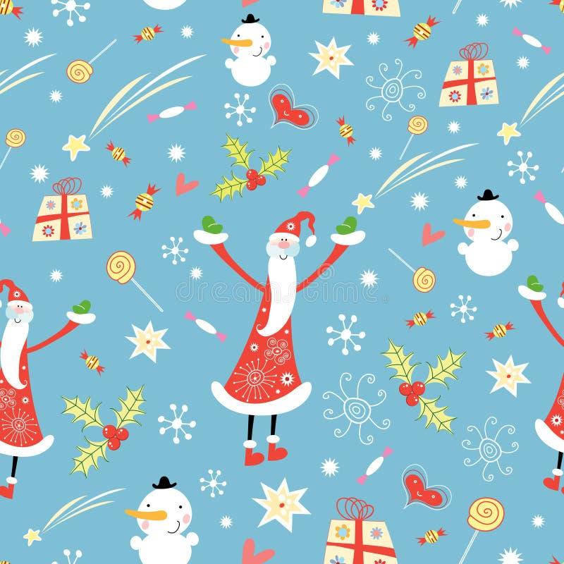 Textura do Natal ilustração royalty free