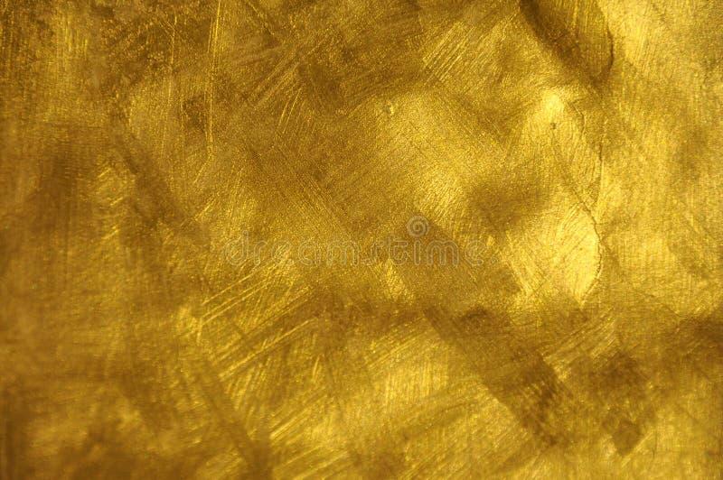 Textura do ouro imagens de stock