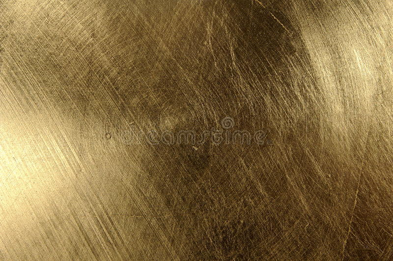 Textura do ouro foto de stock