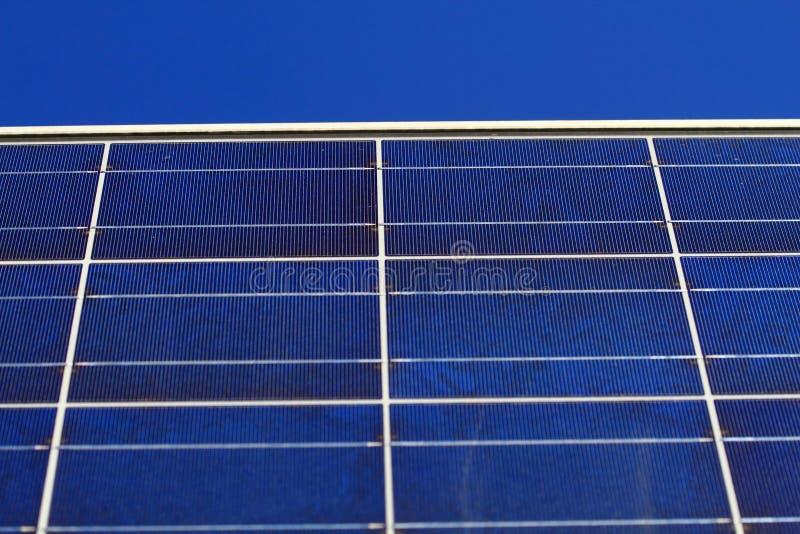Textura do painel solar imagens de stock