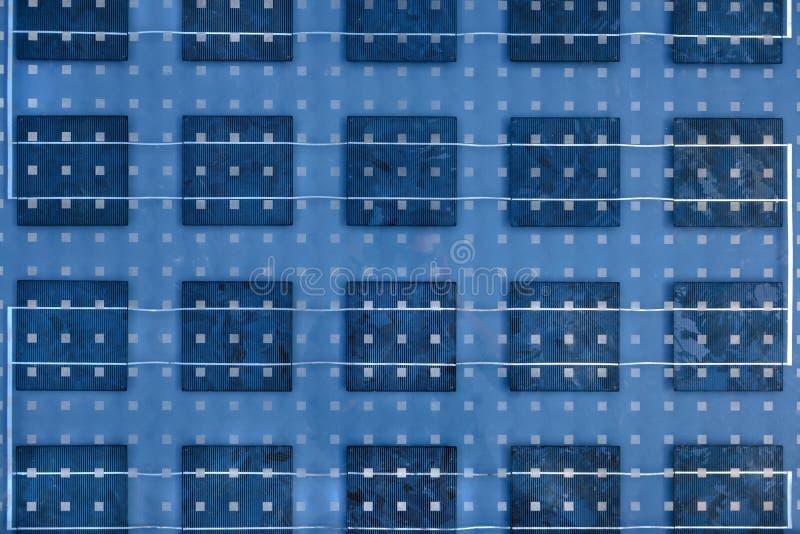 Textura do painel solar ilustração royalty free