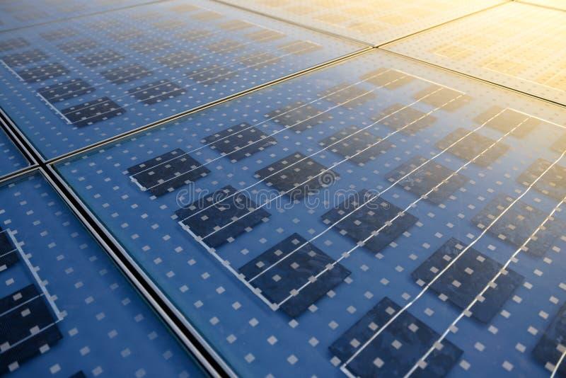 Textura do painel solar fotografia de stock
