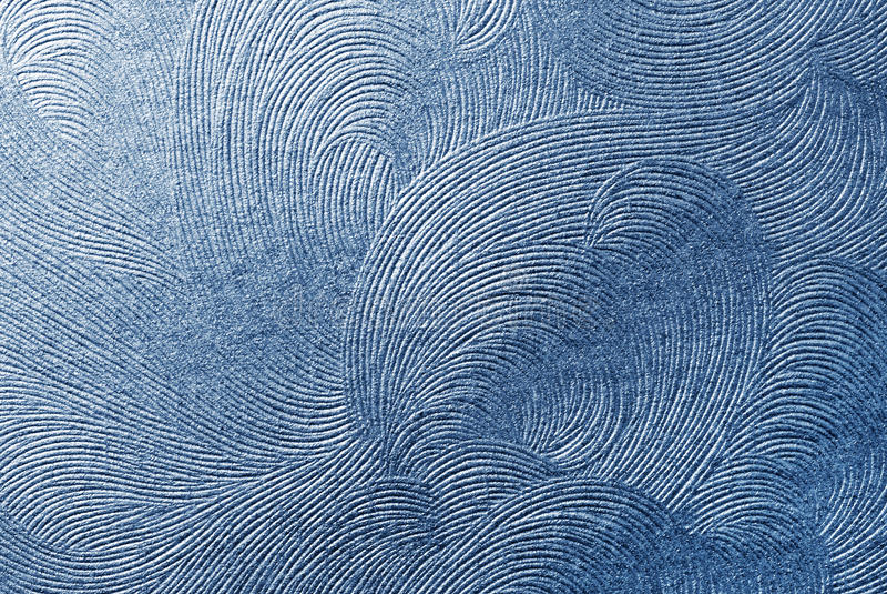 Textura do papel azul fotografia de stock royalty free