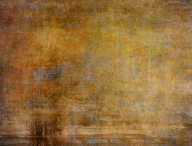 Textura do papel de Brown ilustração royalty free