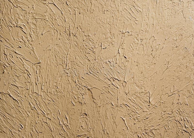 Textura do papel de parede da argila congelada na parede Contraste o fundo do claro-escuro fotos de stock