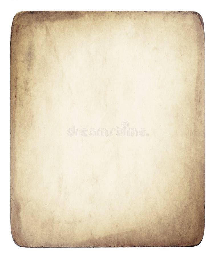 Textura do papel de pergaminho de Brown fotos de stock royalty free