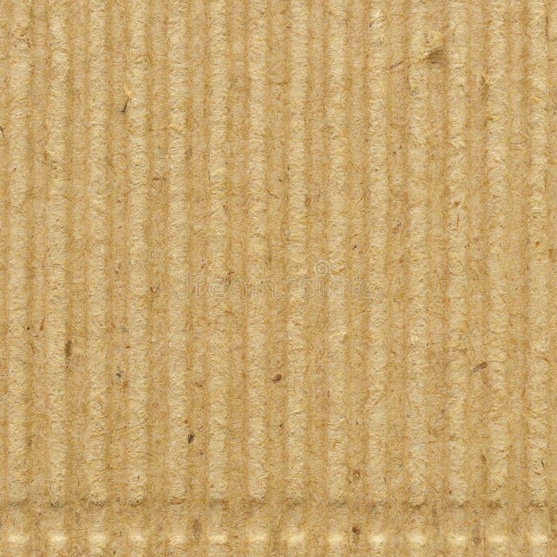 Textura do papel do goffer do cartão ondulado, fundo vazio vazio textured frisado goffered reciclado velho áspero brilhante do es fotos de stock royalty free