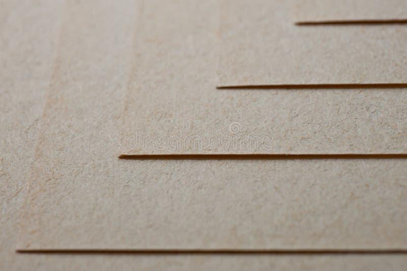 A textura do papel grosseiro, um pacote de cartão imagem de stock royalty free