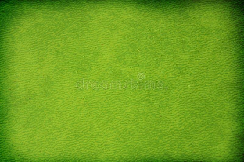 Textura do papel verde ilustração stock