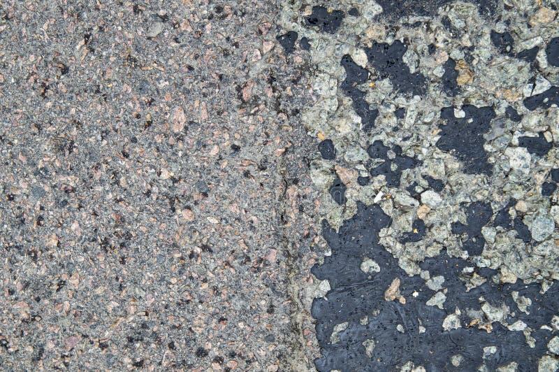 A textura do pavimento do asfalto da estrada imagens de stock royalty free