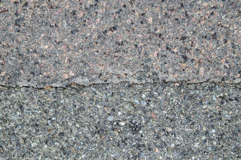 A textura do pavimento do asfalto da estrada fotografia de stock