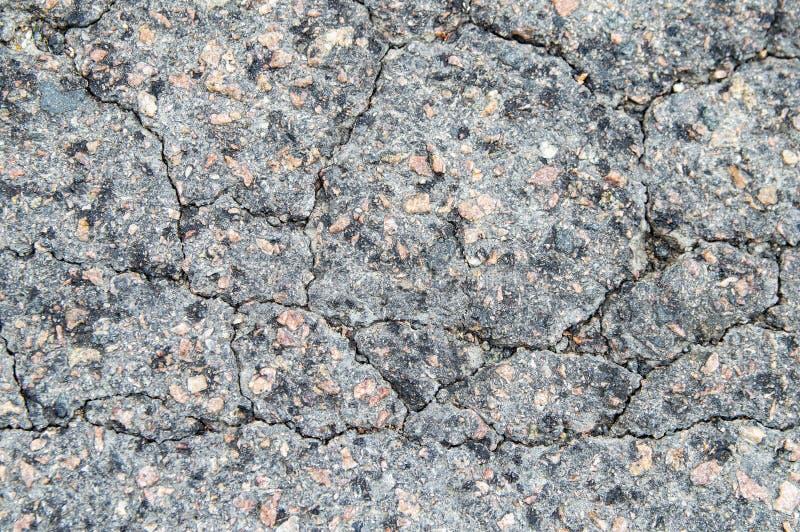 A textura do pavimento do asfalto da estrada imagem de stock royalty free
