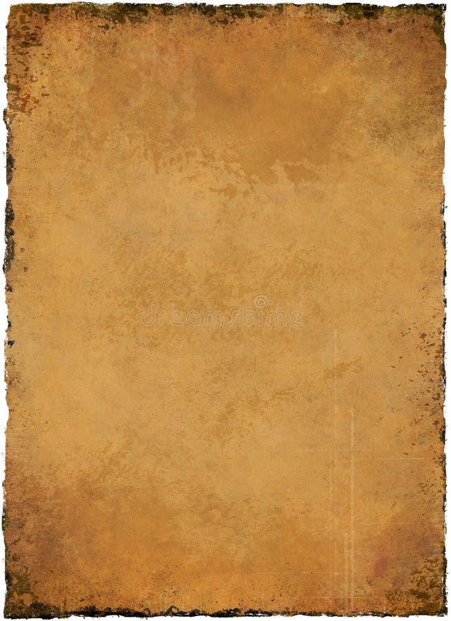 Textura do pergaminho ilustração do vetor