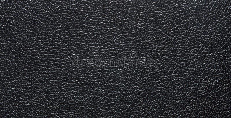 Textura do preto escuro da pele natural, com veias Textura de couro imagem de stock royalty free