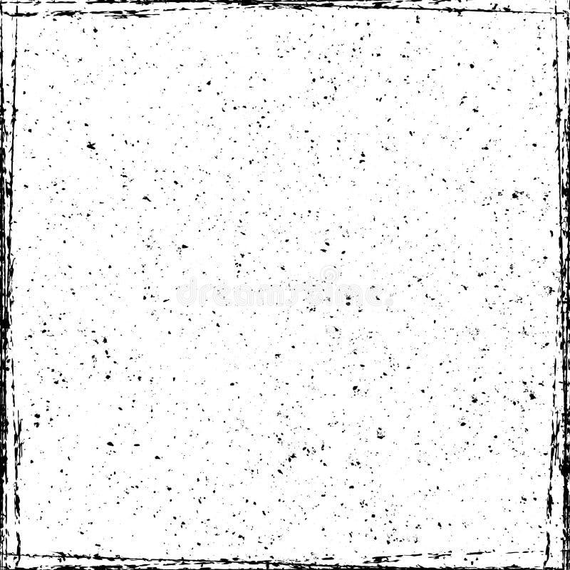 Textura do quadro de Gunge ilustração royalty free