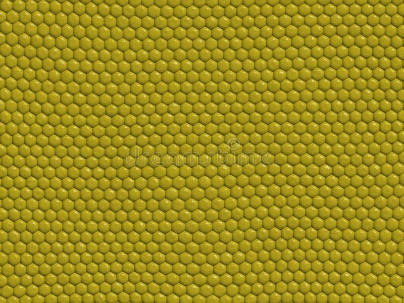 Textura do réptil - lagarto ilustração stock