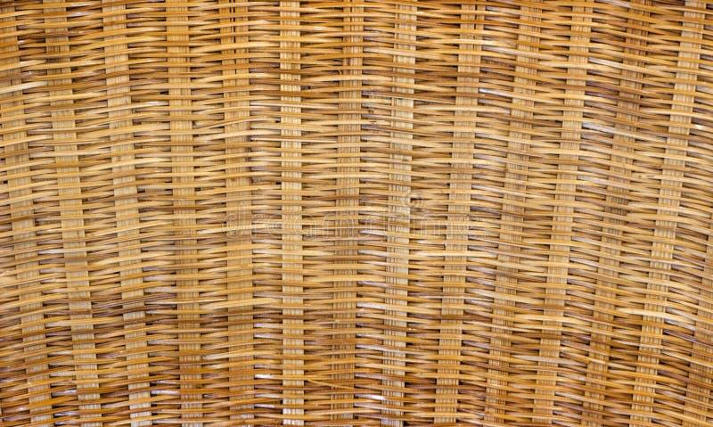 Textura do Rattan para a textura da cesta fotografia de stock royalty free
