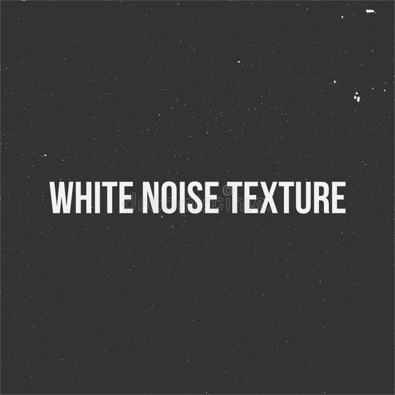 Textura do ruído branco ilustração do vetor