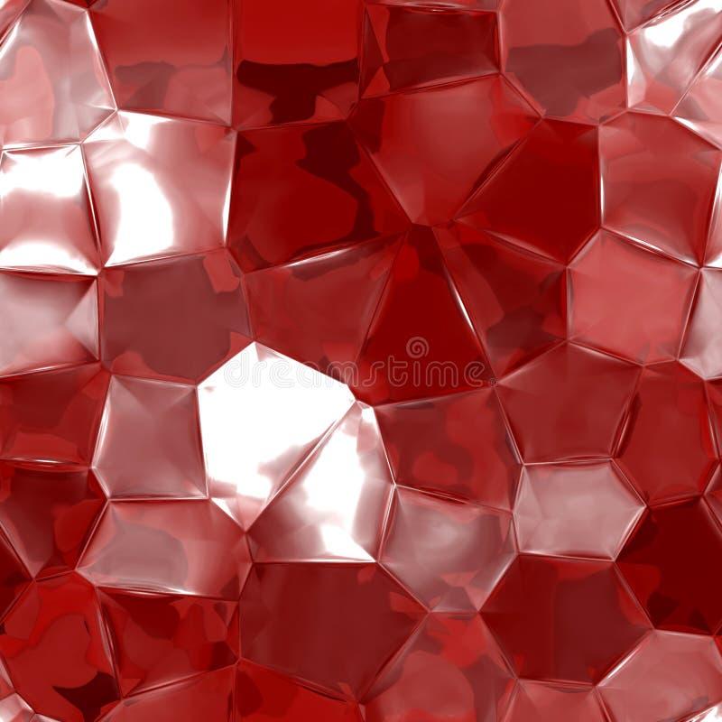Textura do rubi ilustração stock
