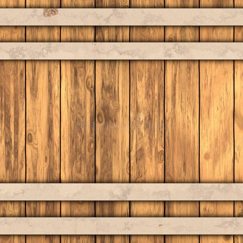 Textura do tambor ilustra o stock ilustra o de tube for Bar barril de madera