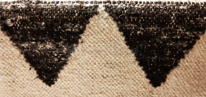 Textura do tapete de triângulos fotos de stock royalty free