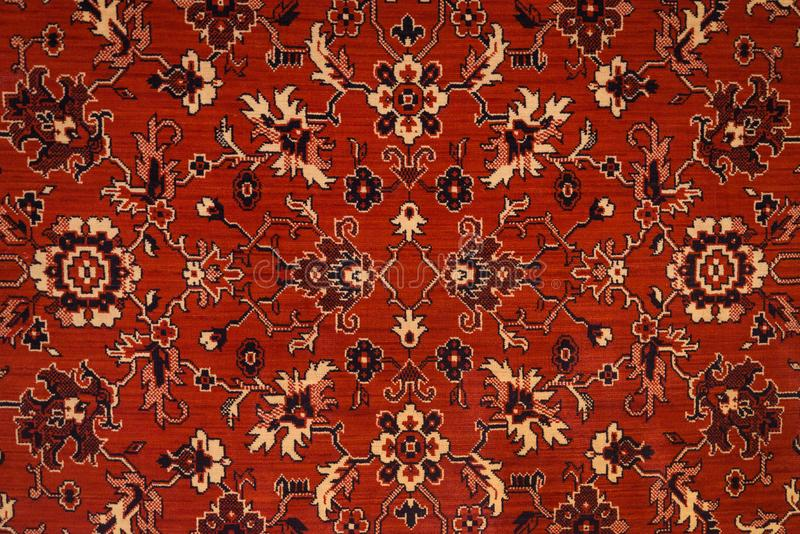Textura do tapete persa foto de stock