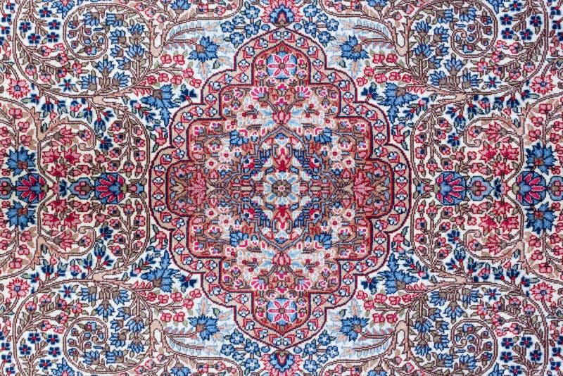 Textura do tapete persa imagem de stock royalty free