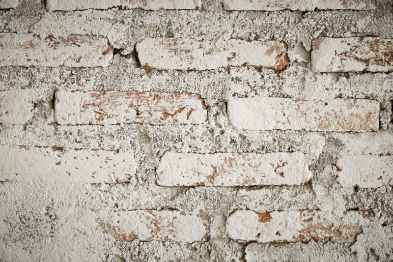 Textura do tijolo com riscos e quebra fotos de stock