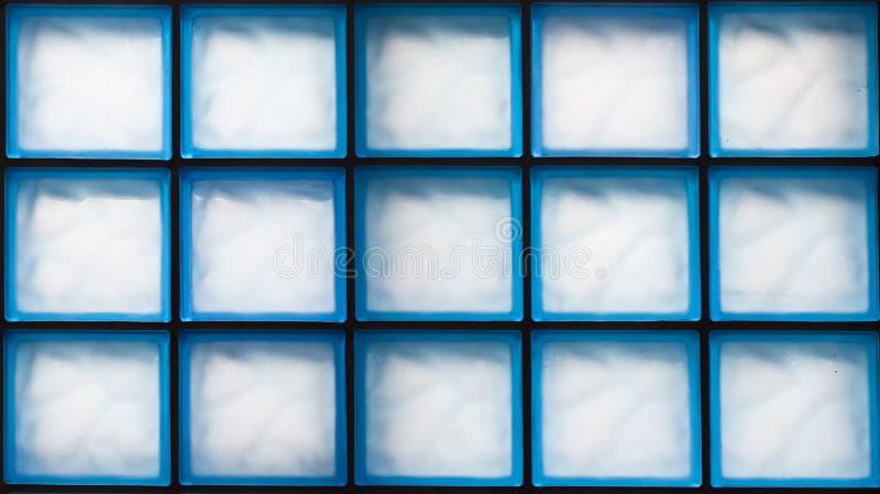 Textura do tijolo de vidro foto de stock royalty free