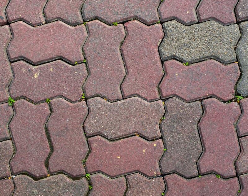 Textura do tijolo do passeio imagens de stock