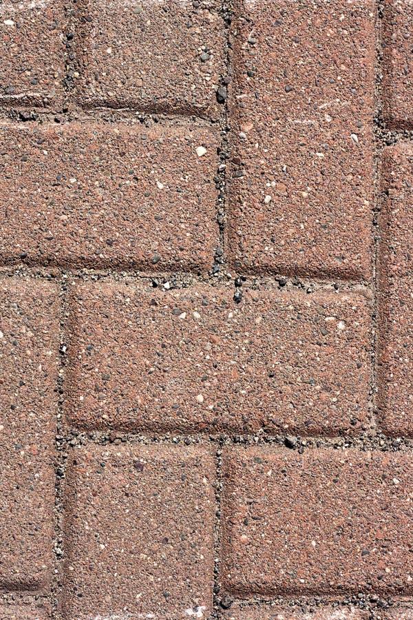 Textura do trajeto de passeio do tijolo vermelho fotografia de stock royalty free