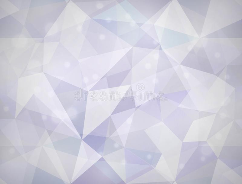 Textura do triângulo. Fundo sem emenda do vetor. imagem de stock