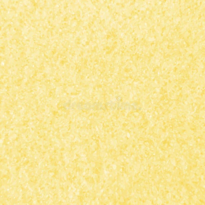 Textura do vetor da praia amarela da areia Molde do fundo de Sandy ilustração do vetor