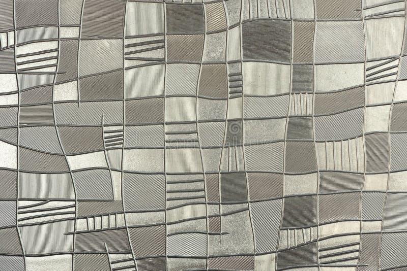 Textura do vidro de teste padrão. foto de stock