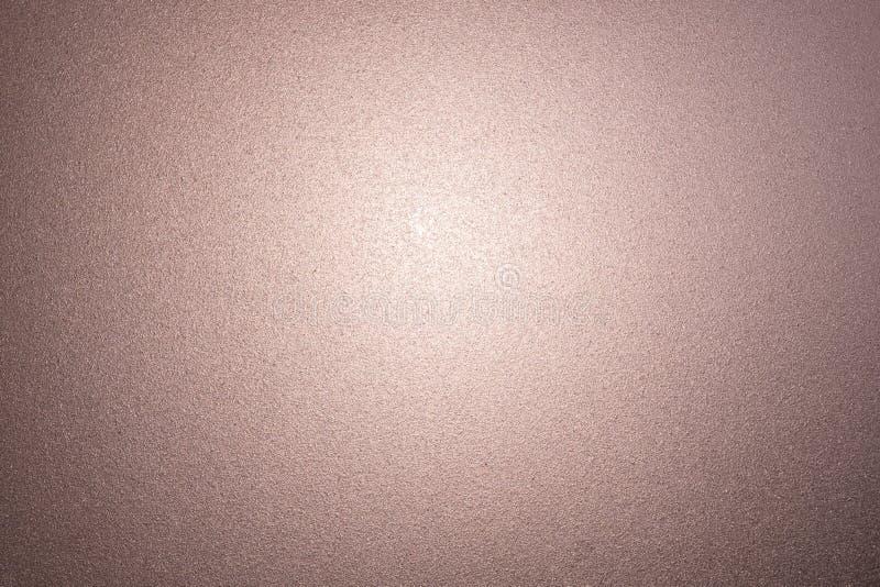 Textura do vidro geado do rosa como o fundo fotos de stock